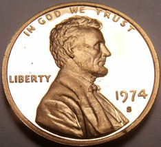 PROOF 1974-S LINCOLN CENT~UPGRADE YOUR COLLECTION~FR/SH - $5.13
