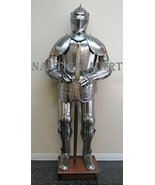 Medieval Reenactment 16th Century Knight Full Suit Of Armor costume - $700.00