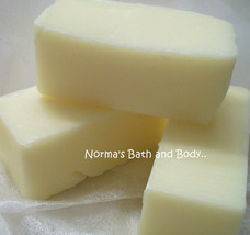 honeysuckle goats milk soap sample - $2.00