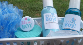 baby powder soap lotion baby basket - $15.00