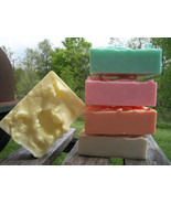 goats milk bath and body soaps. pack of 5, soap... - $25.00
