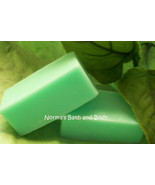 lemon  lime goats milk soap sample - $2.00