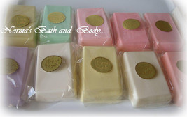 Goats milk glycerin soaps. wholesale lot of 50, wholesale soap, bath, be... - $125.00
