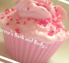 cotton candy cupcake soaps, kids soap, dessert soap, cupcake soap, cotto... - $4.75