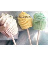 cupcake soaps on a stick, cupcake soap, soap, bath and body, health and ... - $3.50