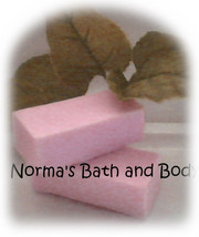 raspberry trial size goats milk soap sample - $2.00
