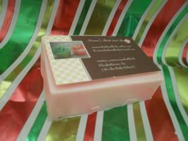 watermelon goats milk glycerin soap - $5.00