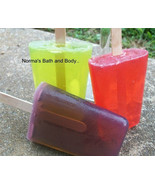 Wholesale Lot of 50 Handmade Glycerin Soap Popsicles - $112.50