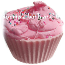 raspberry  cupcake soap, cupcake soap, cupcakes, bath, beauty, gifts, ha... - $4.50