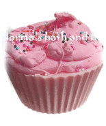 raspberry  cupcake soap, cupcake soap, cupcakes, bath, beauty, gifts, ha... - $4.50