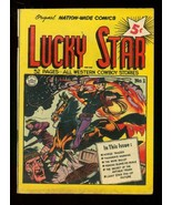 LUCKY STAR #1 '50-JACK DAVIS ART-NATIONWIDE FIRST ISSUE VF - $151.32
