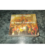 Kannon Classics Short Pieces by Great Composers (1996, 4- CD) - $3.99