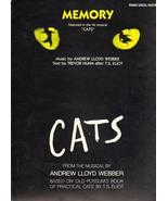 """CATS"", sheet music, 1983  piano, vocal and guitar - $4.25"