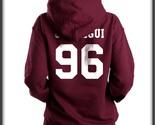 Jauregui hoodie back maroon1 thumb155 crop