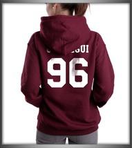 Jauregui hoodie back maroon1 thumb200