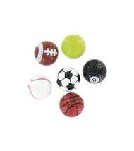 A PACK OF 6 BRAND FUSION NOVELTY GOLF BALLS - $20.68