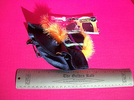 Rubies Pet Costume Dog Medium Large Witch Hat Halloween Holiday Black Ac... - $1.89
