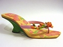 Endless Summer Breezy Sandal Thong Pretty Freesia Accent Just the Right Shoe