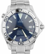 Omega Seamaster Professional 300M Electric Blue Automatic 41mm Watch 225... - $2,293.22
