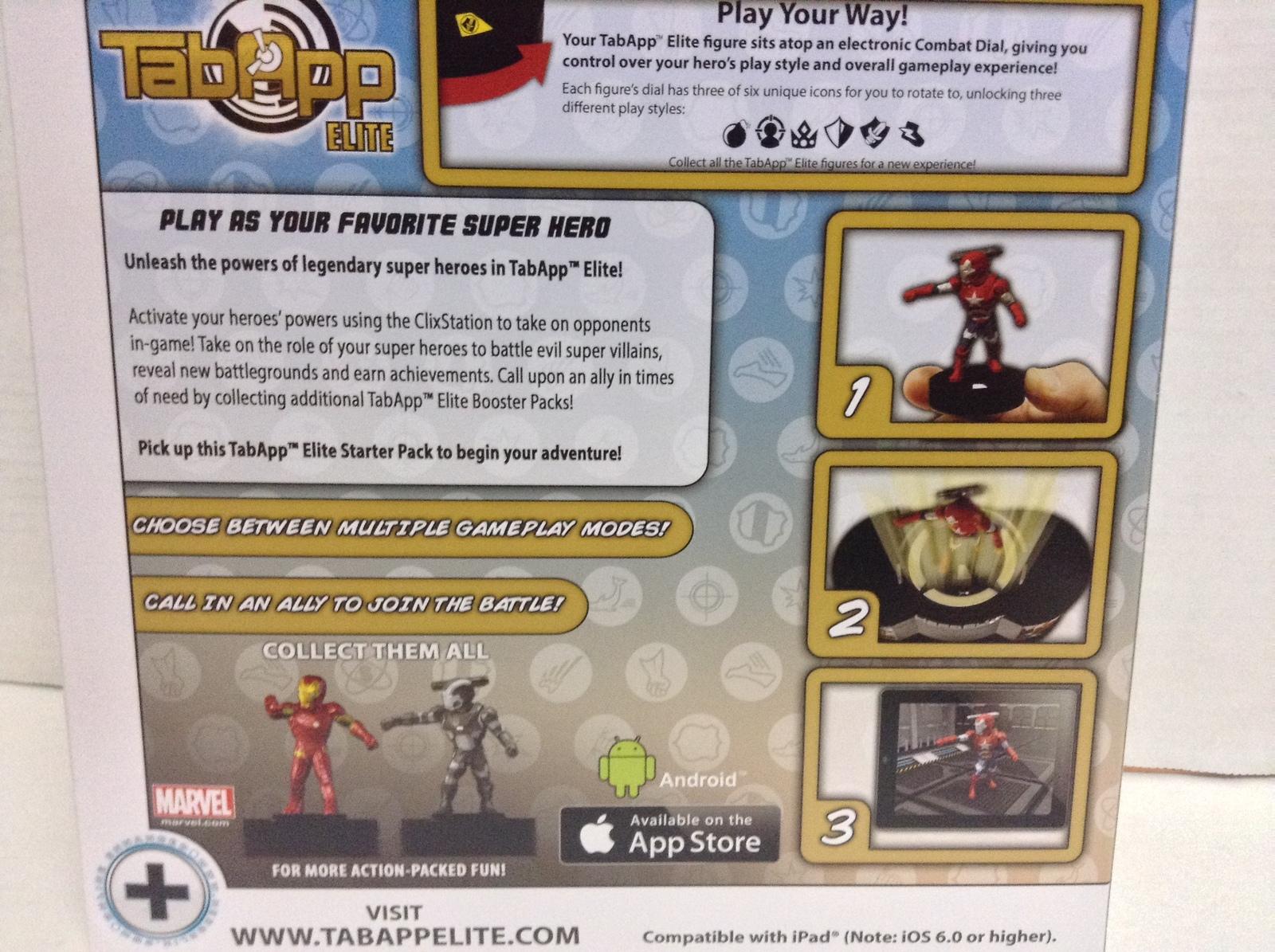 Iron Man IPad Heroclix Invincible TABAPP Elite Starter w/ IRON PATRIOT NEW SEALE