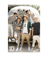 One Direction 1D Airstream Poster Official Brand New Harry Zayn Niall Li... - $12.00