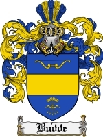 Primary image for Budde Family Crest / Coat of Arms JPG or PDF Image Download