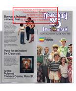 Disneyland Park 25th Anniversary Guide Brochure, Parking Pass Feb 1980 - $49.99
