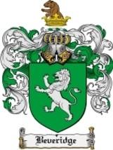 Beveridge Family Crest / Coat of Arms JPG or PDF Image Download - $6.99