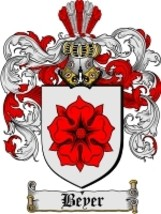 Beyer Family Crest / Coat of Arms JPG or PDF Image Download - $6.99