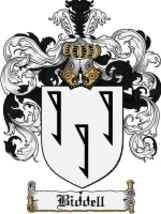 Biddell Family Crest / Coat of Arms JPG or PDF Image Download - $6.99