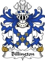 Billington Family Crest / Coat of Arms JPG or PDF Image Download - $6.99
