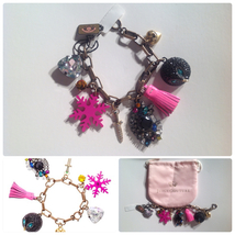 NWT Authentic Juicy Couture Charm Bracelet - $100.00