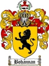 Bohannan Family Crest / Coat of Arms JPG or PDF... - $6.99