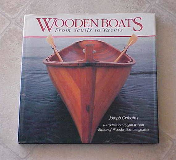 Wooden Boats from Sculls to Yachts by J.Gribbins 1991 1st Edition Hard Cover ODJ