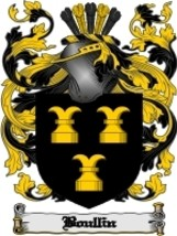 Boullin Family Crest / Coat of Arms JPG or PDF Image Download - $6.99
