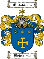Primary image for Brinklow Family Crest / Coat of Arms JPG or PDF Image Download
