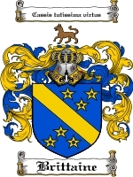 Primary image for Brittaine Family Crest / Coat of Arms JPG or PDF Image Download