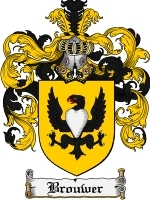 Primary image for Brouwer Family Crest / Coat of Arms JPG or PDF Image Download