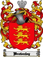 Primary image for Brownley Family Crest / Coat of Arms JPG or PDF Image Download