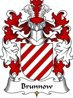 Primary image for Brunnow Family Crest / Coat of Arms JPG or PDF Image Download