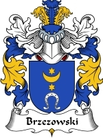 Primary image for Brzezowski Family Crest / Coat of Arms JPG or PDF Image Download