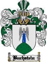Primary image for Buchstein Family Crest / Coat of Arms JPG or PDF Image Download