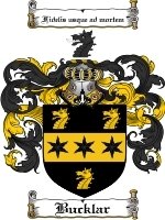 Primary image for Bucklar Family Crest / Coat of Arms JPG or PDF Image Download