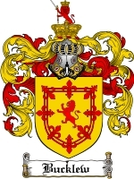 Primary image for Bucklew Family Crest / Coat of Arms JPG or PDF Image Download