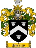 Primary image for Buckley Family Crest / Coat of Arms JPG or PDF Image Download