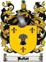 Buffett Family Crest / Coat of Arms JPG or PDF Image Download - $6.99