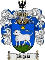 Primary image for Bugeja Family Crest / Coat of Arms JPG or PDF Image Download