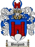 Primary image for Burgund Family Crest / Coat of Arms JPG or PDF Image Download