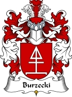 Primary image for Burzecki Family Crest / Coat of Arms JPG or PDF Image Download