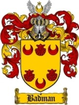 Badman Family Crest / Coat of Arms JPG or PDF Image Download - $6.99